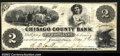 Obsoletes By State:Minnesota, Taylors Falls, MN- Chisago County Bank $2 May 9, 1859 G4 ...