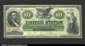 Large Size:Demand Notes, Fr. 6 $10 1861 Demand Note Choice Very Fine. About 40 ...