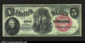 Large Size:Legal Tender Notes, Fr. 75 $5 1880 Legal Tender About New. A really scarce ...