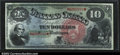 Large Size:Legal Tender Notes, Fr. 96 $10 1869 Legal Tender CGA Gem Uncirculated 66. This ...