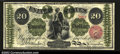 Large Size:Legal Tender Notes, Fr. 126 $20 1863 Legal Tender Choice Extremely Fine. Fr. ...