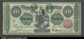 Large Size:Legal Tender Notes, Fr. 126b $20 1863 Legal Tender CGA-Gem Uncirculated 65. ...