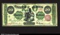 Large Size:Legal Tender Notes, Fr. 126b $20 1863 Legal Tender Very Fine. This bright, ...