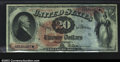 Large Size:Legal Tender Notes, Fr. 127 $20 1869 CGA Gem Uncirculated 65. This 1869 Twenty ...