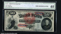 Large Size:Legal Tender Notes, Fr. 151 $50 1869 CGA Gem Uncirculated 65. Fr. 151 is a one ...