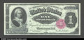 Large Size:Silver Certificates, Fr. 222 $1 1891 Silver Certificate Gem New. Fr. 222 is by ...