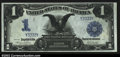 Large Size:Silver Certificates, Fr. 233 $1 1899 Silver Certificate Gem New. This four-...