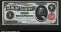 Large Size:Silver Certificates, Fr. 267 $5 1891 Silver Certificate CGA Gem Uncirculated 67....