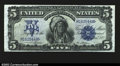 Large Size:Silver Certificates, Fr. 276 $5 1899 Silver Certificate Superb Gem New. This ...