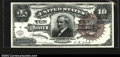 Large Size:Silver Certificates, Fr. 296 $10 1886 Silver Certificate CGA Gem Uncirculated 65....