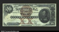 Large Size:Silver Certificates, Fr. 311 $20 1880 Silver Certificate Extremely Fine. This ...