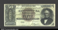 Large Size:Silver Certificates, Fr. 328 $50 1880 Silver Certificate Fine-Very Fine. A very ...