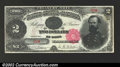 Large Size:Treasury Notes, Fr. 356 $2 1891 Treasury Note Choice New. This McPherson ...