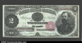 Large Size:Treasury Notes, Fr. 357 $2 1891 Treasury Note Very Choice New. This ...