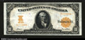 Large Size:Gold Certificates, Fr. 1170a $10 1907 Gold Certificate Choice Extremely Fine. ...