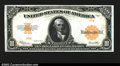 Large Size:Gold Certificates, Fr. 1173a $10 1922 Gold Certificate Superb Gem New. This ...