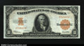 Large Size:Gold Certificates, Fr. 1173a $10 1922 Gold Certificate Choice Extremely Fine. ...