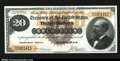 Large Size:Gold Certificates, Fr. 1177 $20 1882 Gold Certificate Choice About New. This s...