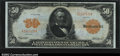 Large Size:Gold Certificates, Fr. 1199 $50 1913 Gold Certificate CGA Gem Uncirculated 65....