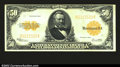 Large Size:Gold Certificates, Fr. 1200 $50 1922 Gold Certificate Choice Extremely Fine. ...