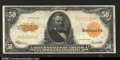 Large Size:Gold Certificates, Fr. 1200 $50 1922 Gold Certificate Extremely Fine A nice ...
