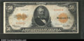 Large Size:Gold Certificates, Fr. 1200a $50 1922 Gold Certificate CGA Very Fine 30. Fr. ...