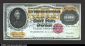 Large Size:Gold Certificates, Fr. 1225 1900 $10,000 Gold Certificate Gem New. This a ...