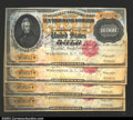 Large Size:Gold Certificates, Fr. 1225 $10,000 1900 Gold Certificates Choice New. This ...