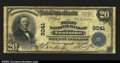 National Bank Notes:Alabama, Anniston, AL $20 1902 Plain Back The First NB Ch. # ...