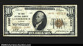 National Bank Notes:Alabama, Guntersville, AL- $10 1929 Ty. 2 The First NB Ch. # ...