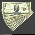 National Bank Notes:Alabama, A Mobile Grouping, including: