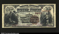 National Bank Notes:Alabama, Montgomery, AL- $20 1882 Brown Back Fr. 504 The Fourth ...