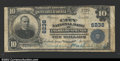 National Bank Notes:Colorado, Colorado Springs, CO- $10 1902 Plain Back Fr. 635 The ...