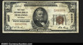 National Bank Notes:Colorado, Durango, CO- $50 1929 Ty. 1 The First NB Ch. # 2637...