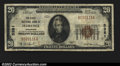 National Bank Notes:Colorado, Florence, CO- $20 1929 Ty. 1 The First NB Ch. # 5381...
