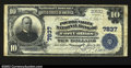 National Bank Notes:Colorado, Fort Collins, CO- $10 1902 Plain Back Fr. 624 The Poudre ...
