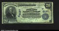 National Bank Notes:Colorado, Grand Junction, CO- $20 1902 Plain Back Fr. 650 The ...