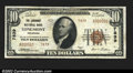 National Bank Notes:Colorado, Longmont, CO- $10 1929 Ty. 2 The Longmont NB Ch. # ...