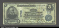 National Bank Notes:Kentucky, Covington, KY- $5 1902 Date Back Fr. 590 The First NB ...