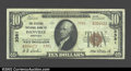 National Bank Notes:Kentucky, Danville, KY - $10 1929 Ty. 2 Citizens NB of Danville ...