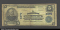 National Bank Notes:Kentucky, Georgetown, KY - $5 1902 Plain Back Fr. 600 Georgetown ...