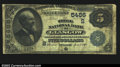 National Bank Notes:Kentucky, Glasgow, KY- $5 1882 Date Back Fr. 537 The Trigg NB Ch....