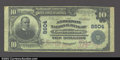 National Bank Notes:Kentucky, Lawrenceburg, KY- $10 1902 Plain Back Fr. 626 The ...