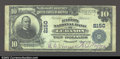 National Bank Notes:Kentucky, Lebanon, KY- $10 1902 Plain Back Fr. 631 The Marion NB ...
