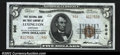 National Bank Notes:Kentucky, Lexington, KY- $5 1929 Ty. 2 First NB & TC Ch. # 906...
