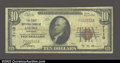 National Bank Notes:Kentucky, Louisa, KY- $10 1929 Ty. 1The First NB Ch. # 7110