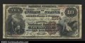 National Bank Notes:Kentucky, Louisville, KY- $10 1882 Brown Back Fr. 487 The Citizens ...