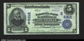 National Bank Notes:Kentucky, Louisville, KY- $5 1902 Plain Back Fr. 607 The NB of ...