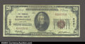 National Bank Notes:Kentucky, Madisonville, KY- $20 1929 Ty. 1 The Farmers NB Ch. # ...
