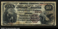 National Bank Notes:Kentucky, Mayfield, KY- $10 1882 Brown Back Fr. 487The First NB ...